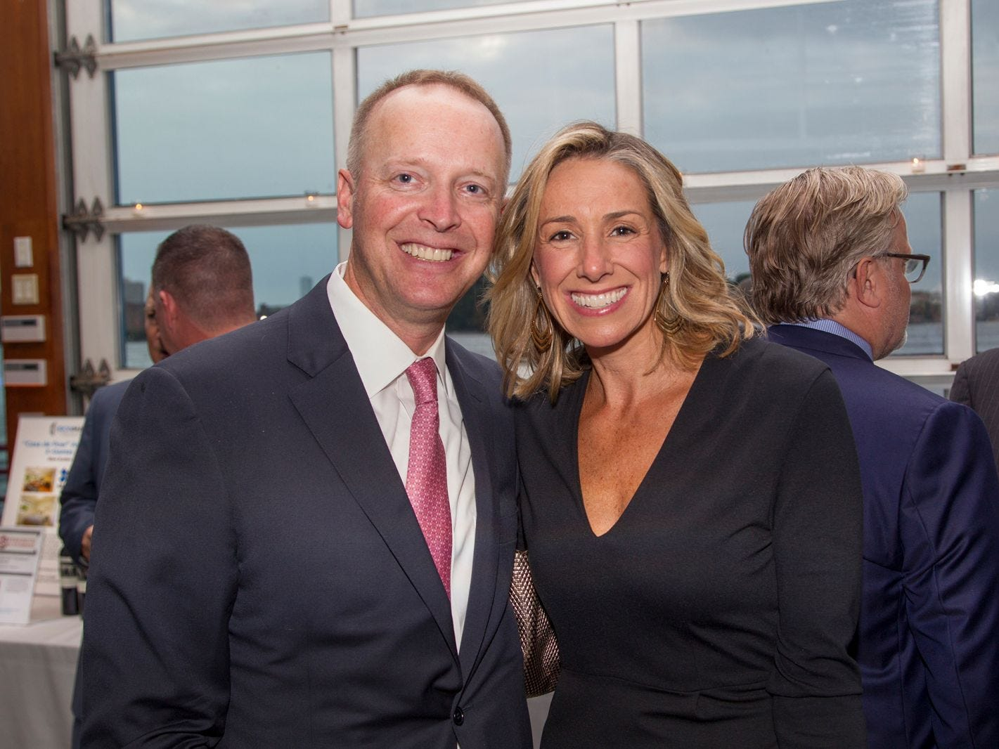 Ted and Bonnie Offerfilge. 11th annual IronMatt Fundraiser Gala at Pier 60 Chelsea Piers. 09/20/2018