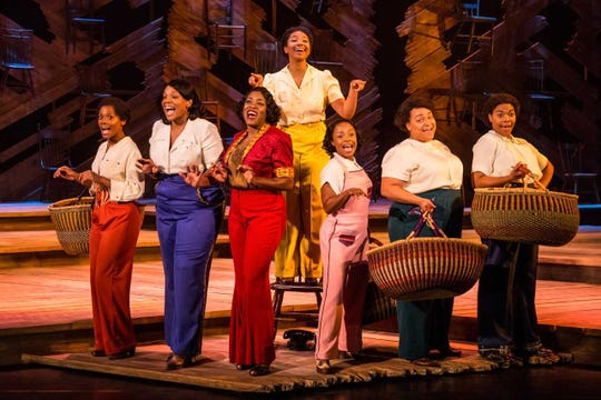 """Adrianna Hicks and the company of """"The Color Purple"""" at Paper Mill Playhouse"""