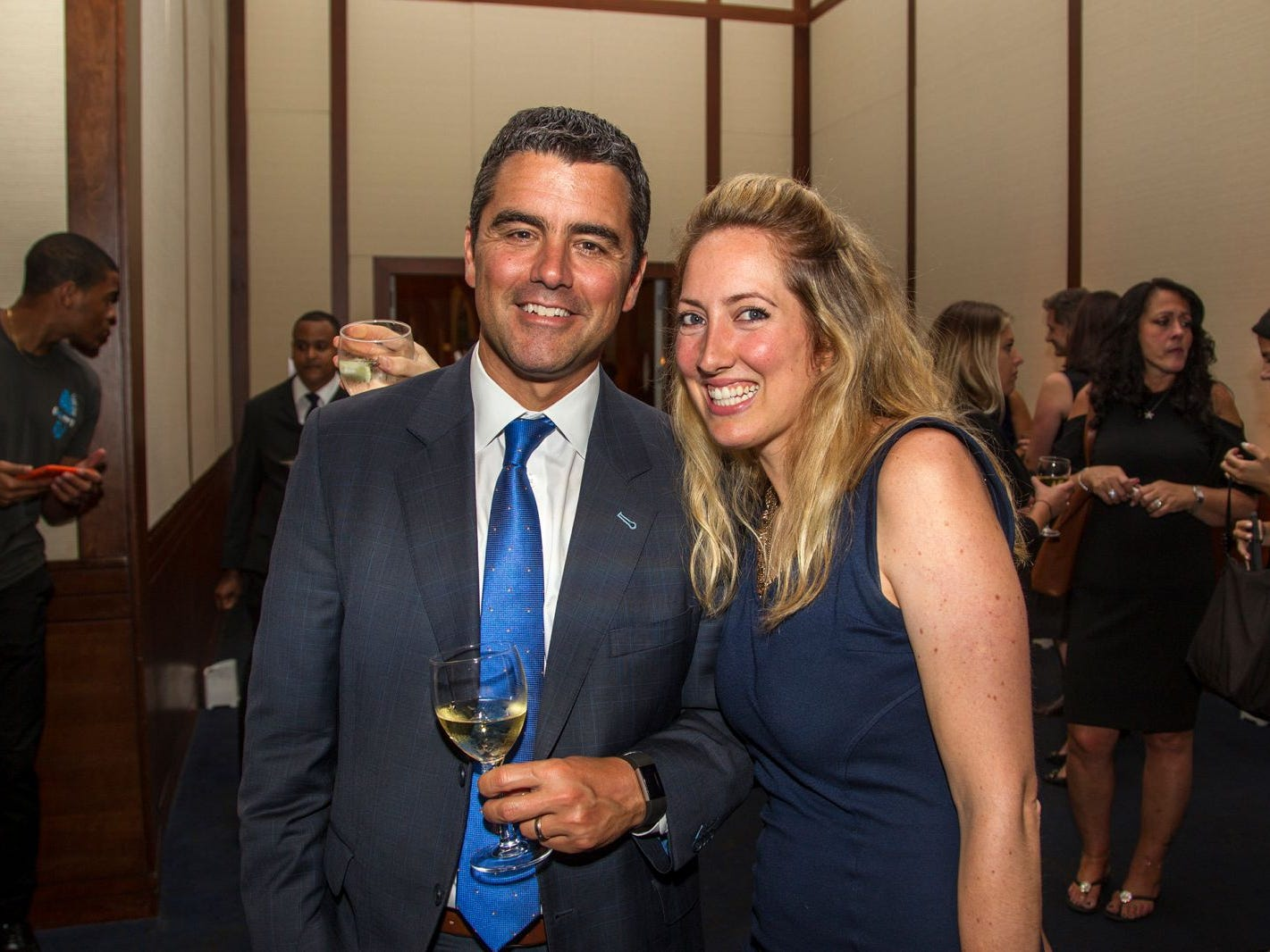 Jim and Alexis. 11th annual IronMatt Fundraiser Gala at Pier 60 Chelsea Piers. 09/20/2018