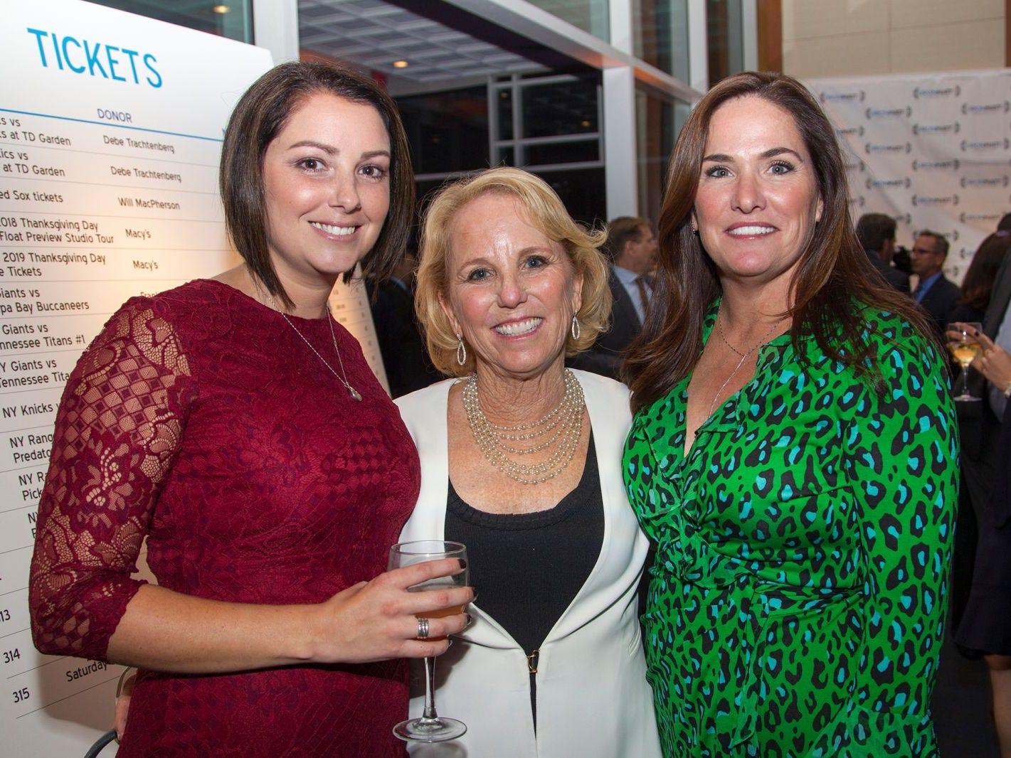 Michelle Ackermann, Kerry Bascio, Kelly Larson. 11th annual IronMatt Fundraiser Gala at Pier 60 Chelsea Piers. 09/20/2018