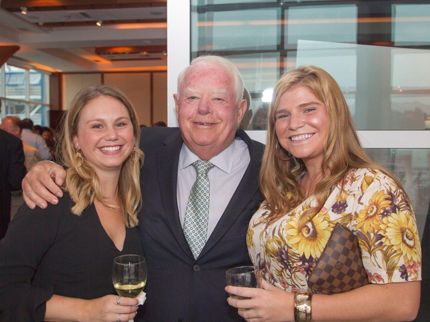Molly Bascio, Tim Higgins, Alex Carrick. 11th annual IronMatt Fundraiser Gala at Pier 60 Chelsea Piers. 09/20/2018
