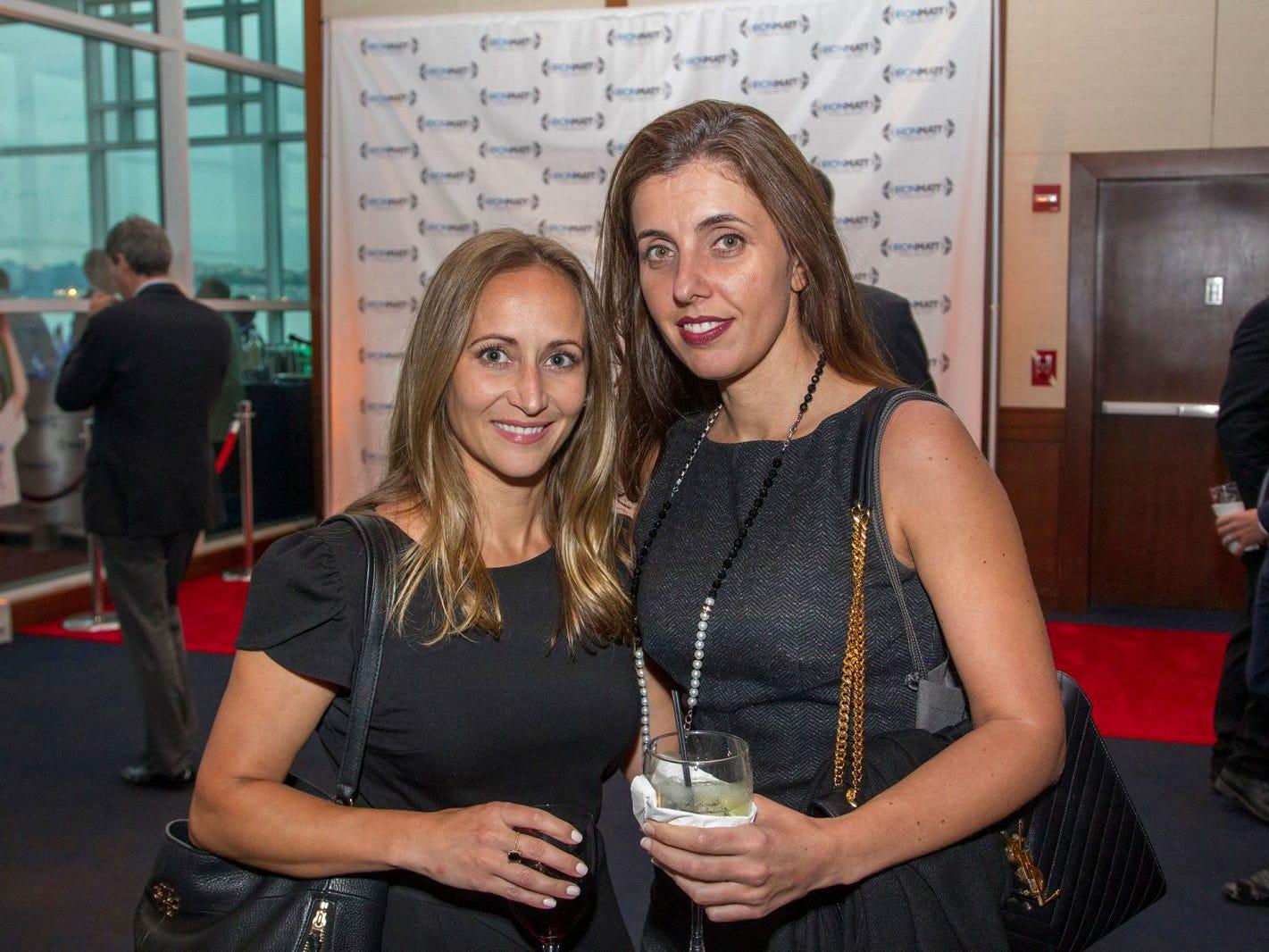 Dona Villanouva, Liz Kocovic. 11th annual IronMatt Fundraiser Gala at Pier 60 Chelsea Piers. 09/20/2018