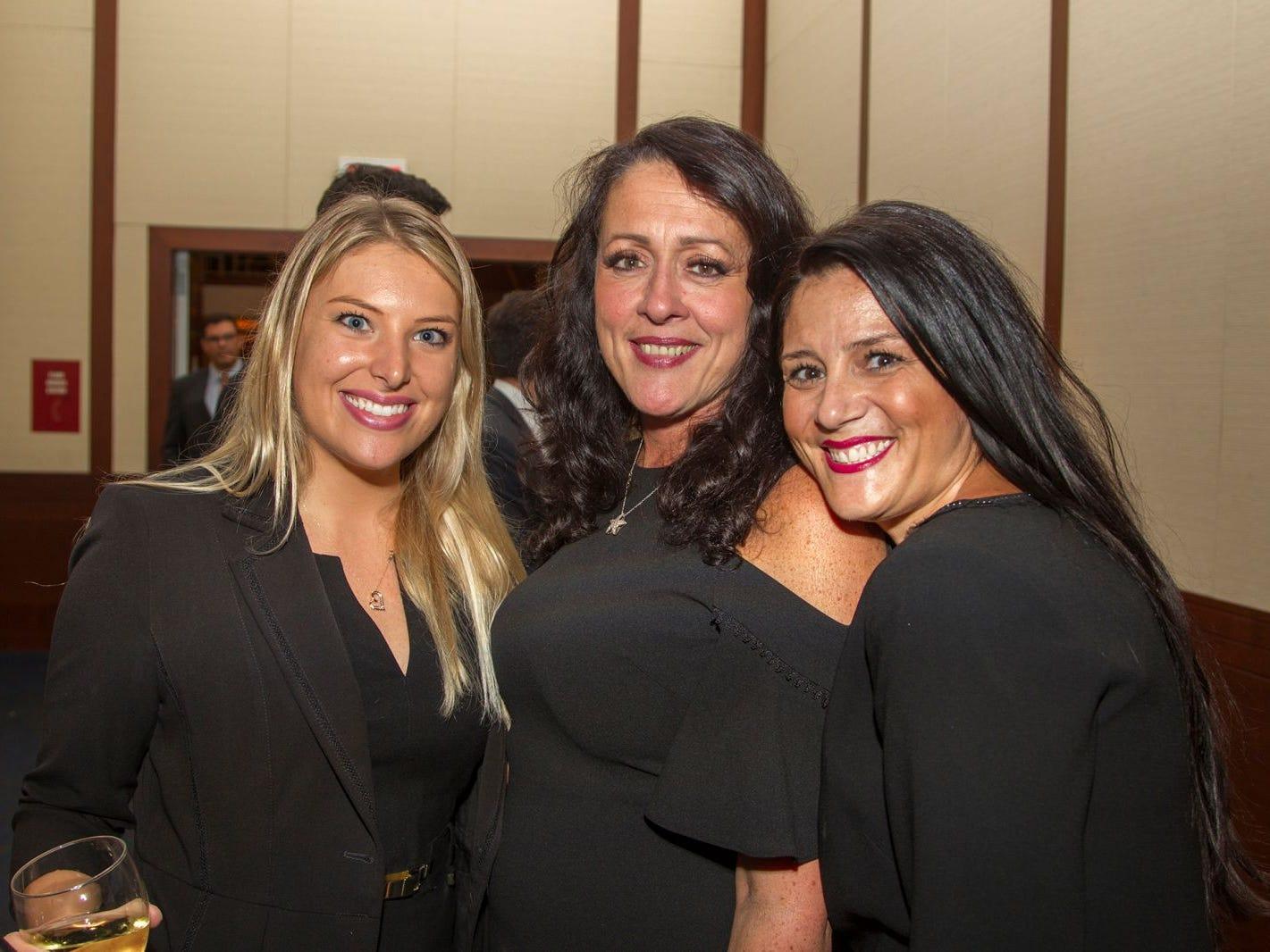 Erika Cevasco, Lori Lia, Lori Ciraolo. 11th annual IronMatt Fundraiser Gala at Pier 60 Chelsea Piers. 09/20/2018