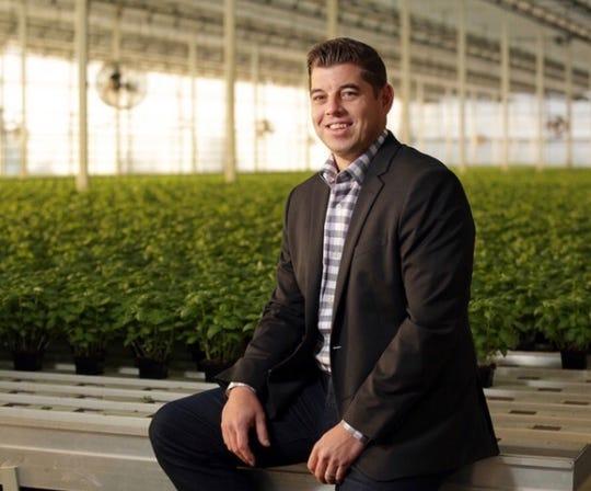 Ken VandeVrede, of Gro-Rite Garden Center & Florist, and CEO of Hillview Med in Pequannock.