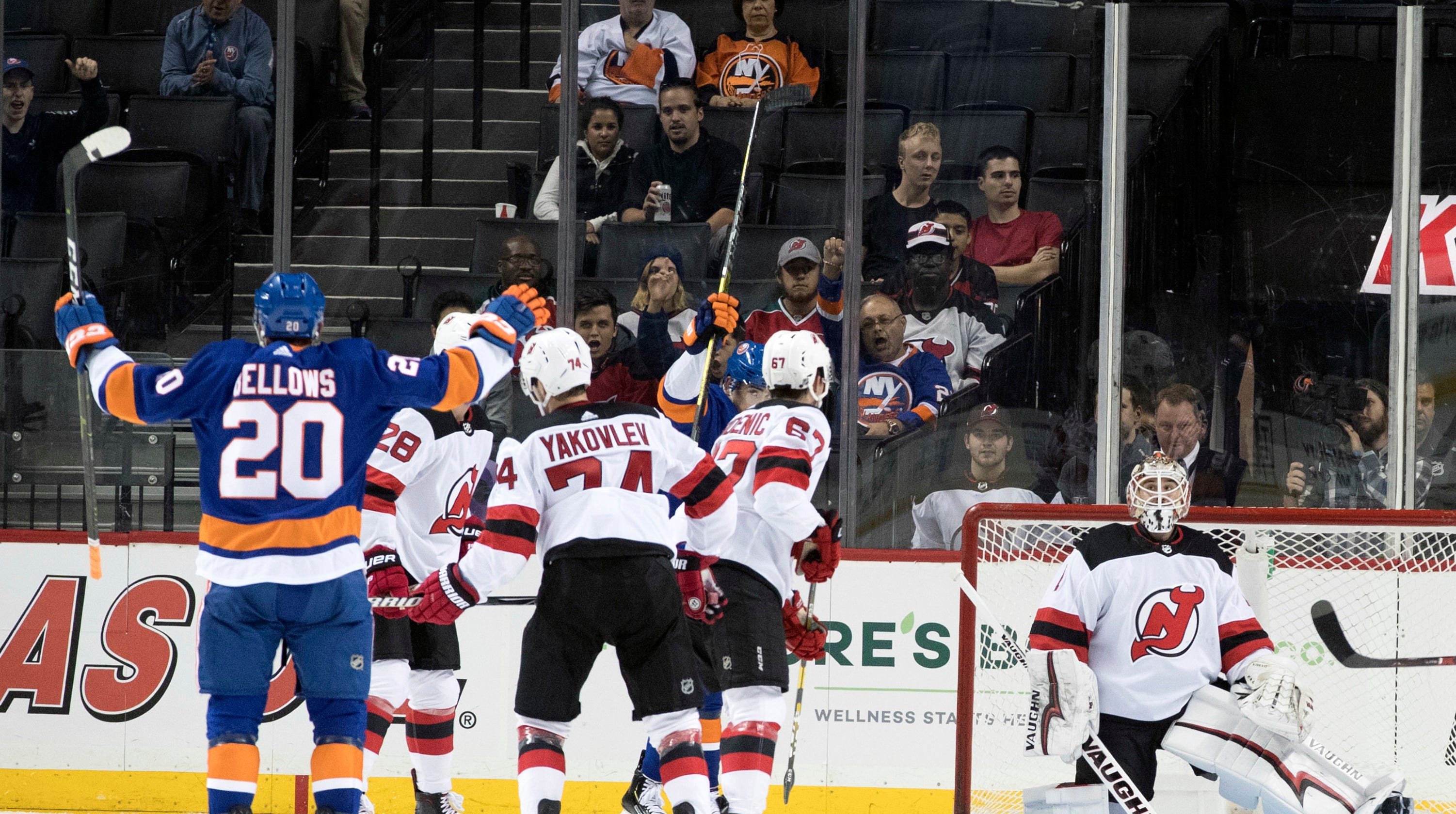 timeless design e0044 01db7 3 takeaways from NY Devils' ugly preseason loss to NY Islanders