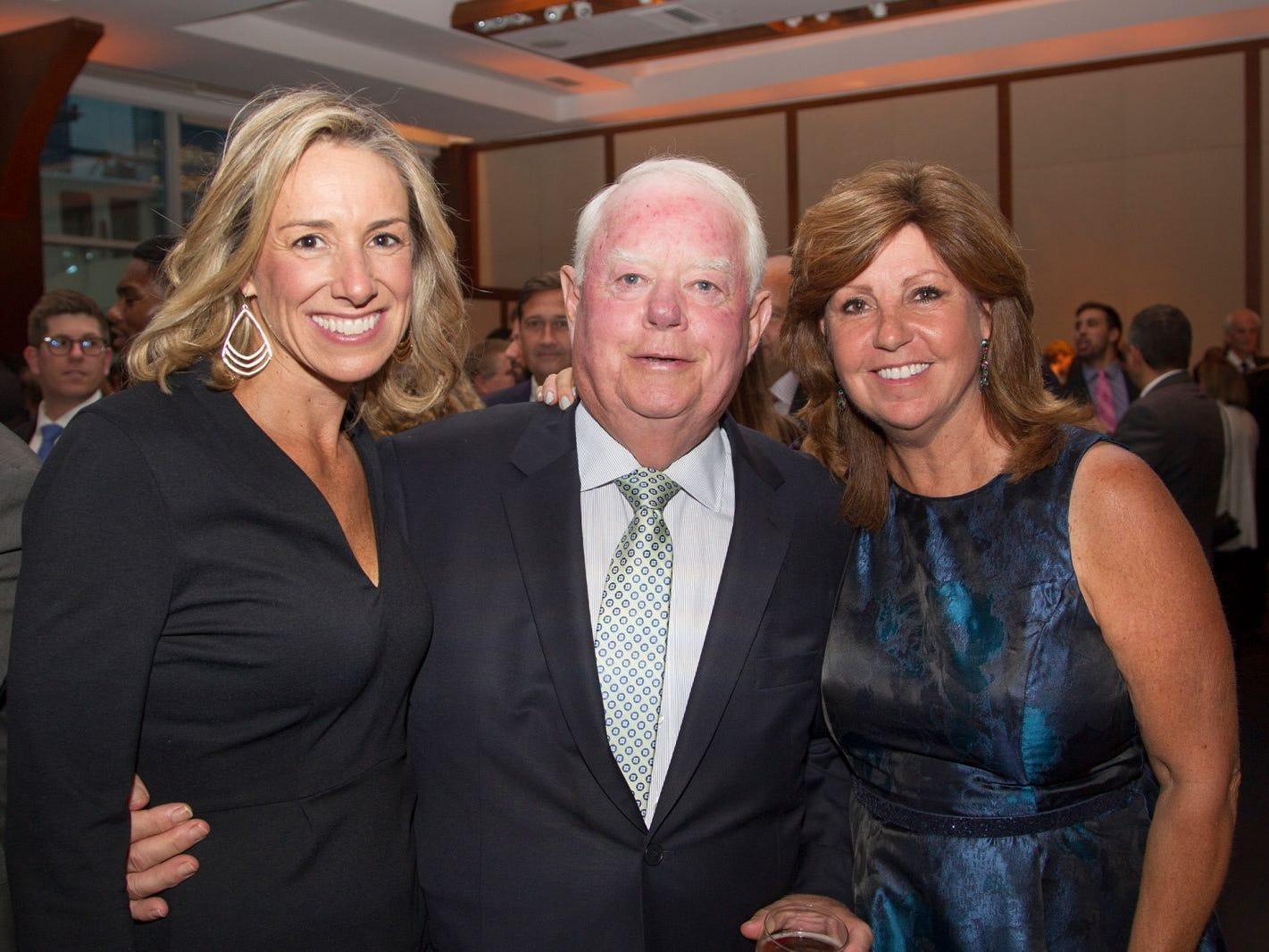 Bonnie Offerfilge, Tim and Val Reardon. 11th annual IronMatt Fundraiser Gala at Pier 60 Chelsea Piers. 09/20/2018
