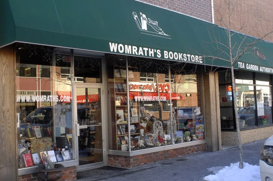 Womrath's bookstore in Tenafly