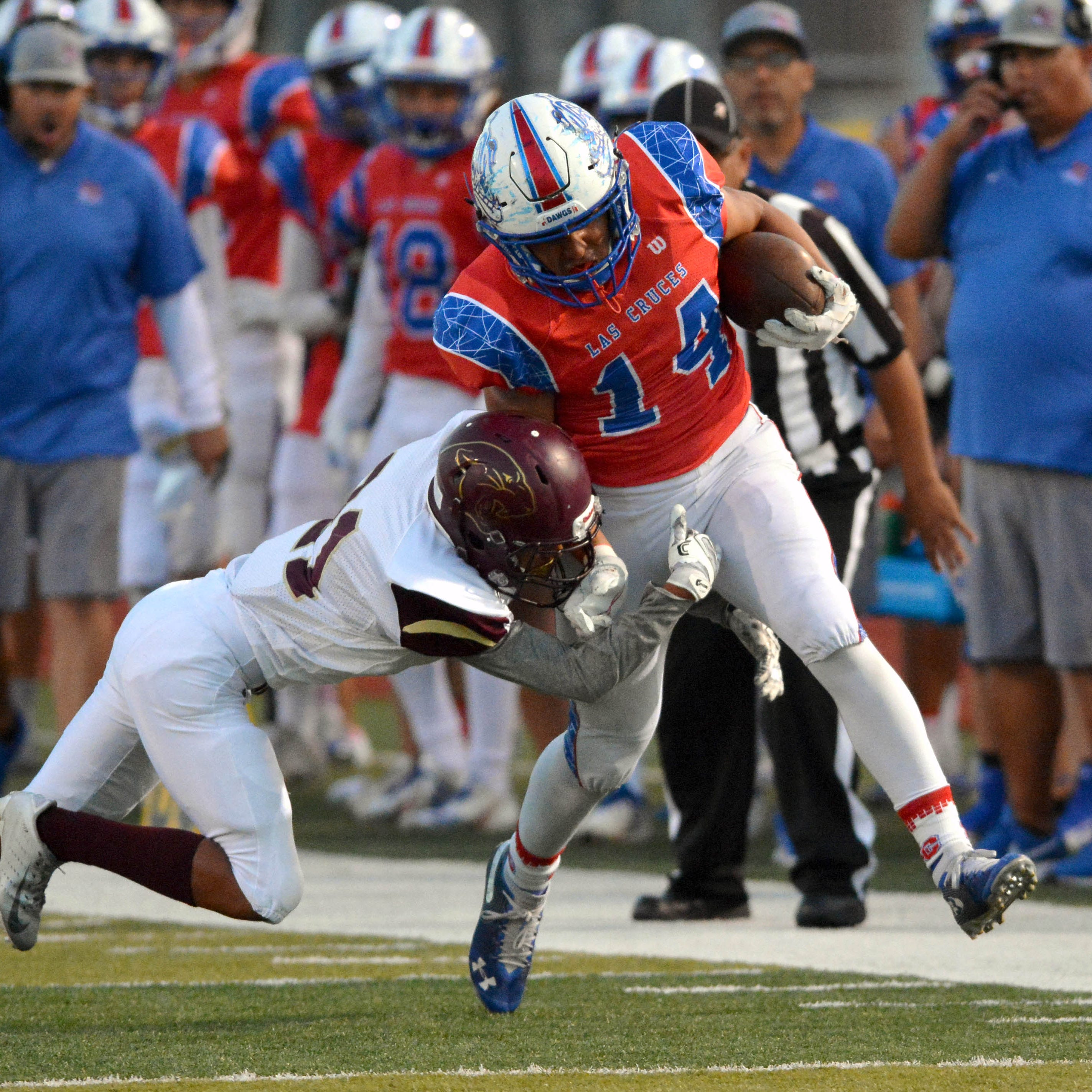 Las Cruces opens District 3-6A play with win over Gadsden