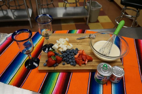 """This tres leches parfait is just one tasty recipe featured in """"Tex-Mex Diabetes Cooking: More than 140 Authentic Southwestern Favorites,"""" written by Kelley Coffeen, an assistant professor in the Clothing, Textiles & Fashion Merchandising program and noted cookbook author, and  published by the American Diabetes Association."""