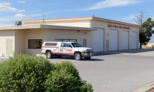 The Santa Teresa fire district would be the only district to remain the same under a Doña Ana County consolidation plan.