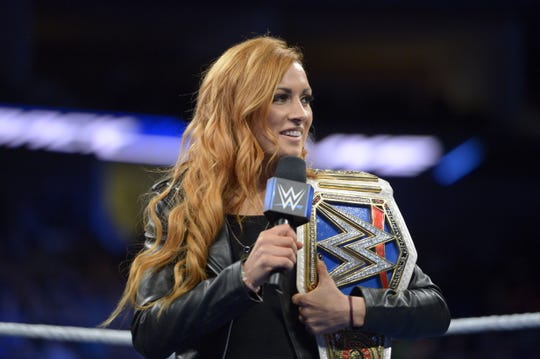 SmackDown Women's Champion Becky Lynch and the rest of the SmackDown Live roster return to the Pan American Center Sunday evening.