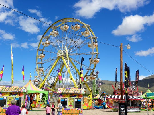The Otero County Fair was in full swing Friday after rainstorms drenched the city Thursday.
