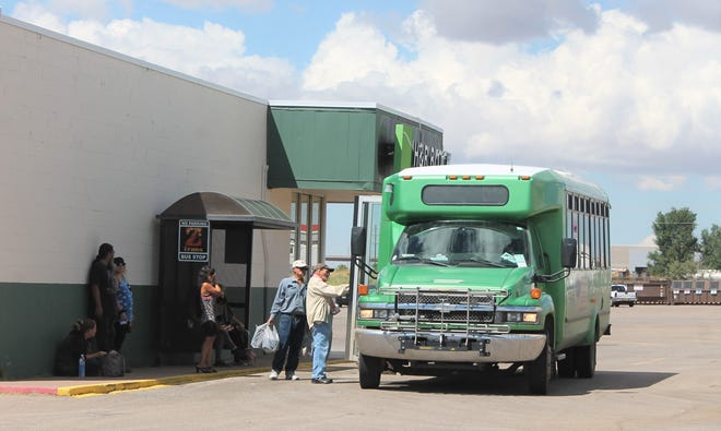 The Z-Trans bus stop at the White Sands Mall will relocate to the Otero County Fairgrounds parking lot starting on Nov. 15.
