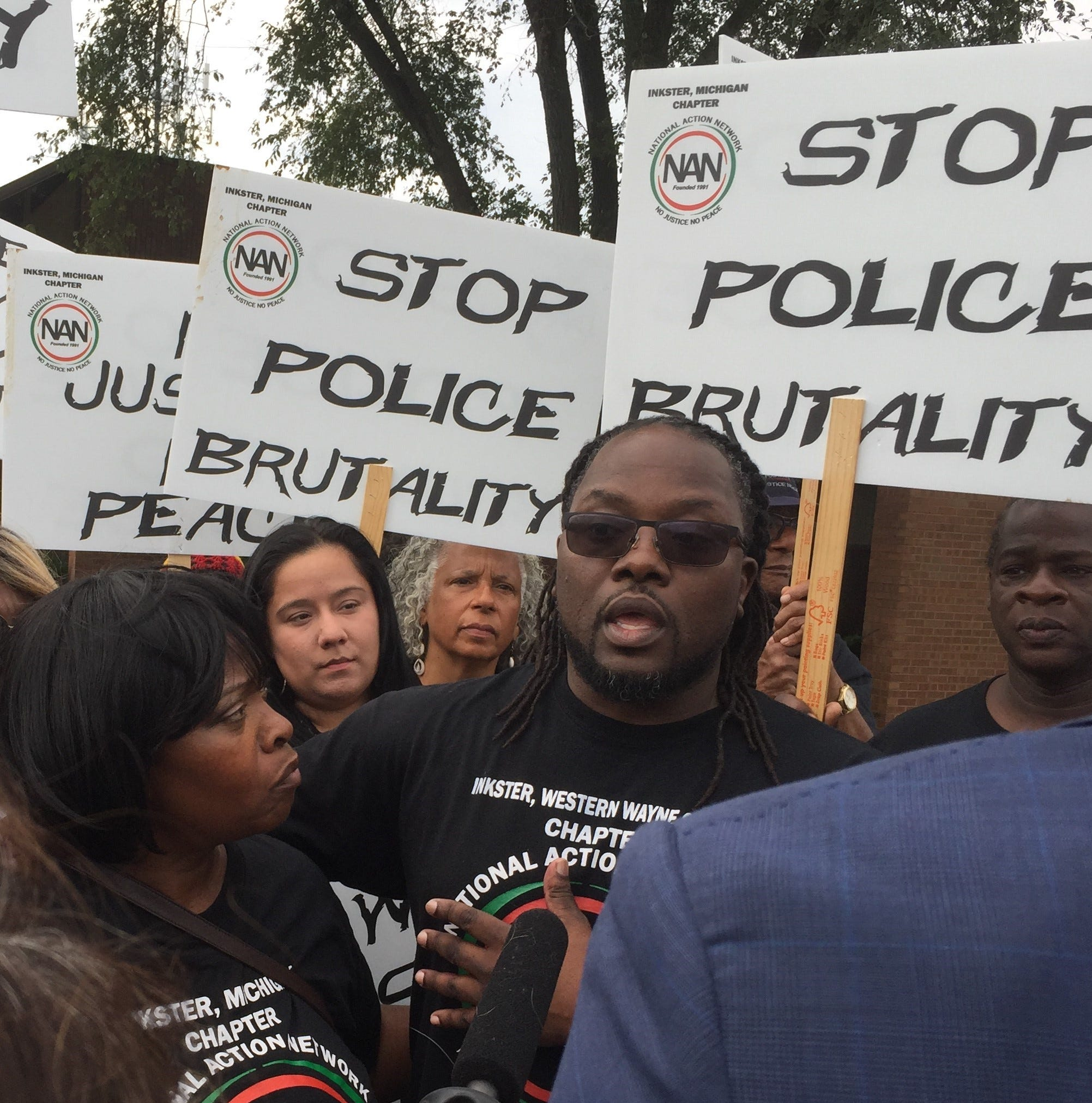 Claiming police bias, excessive force, protesters announce march in Westland