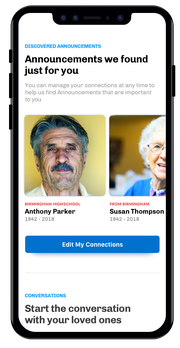 The Everdays mobile app keeps users in the loop about deaths within their circles of friends, family members and acquaintances.