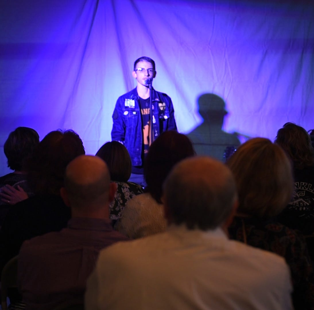 Full house comes out to hear tales at Hometown Life Storytellers Project in Northville