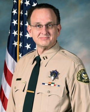 Moreno Police Chief David Kurylowicz