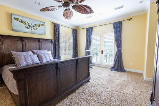 1329 Quiet Cove Court, the upstairs master bedroom.