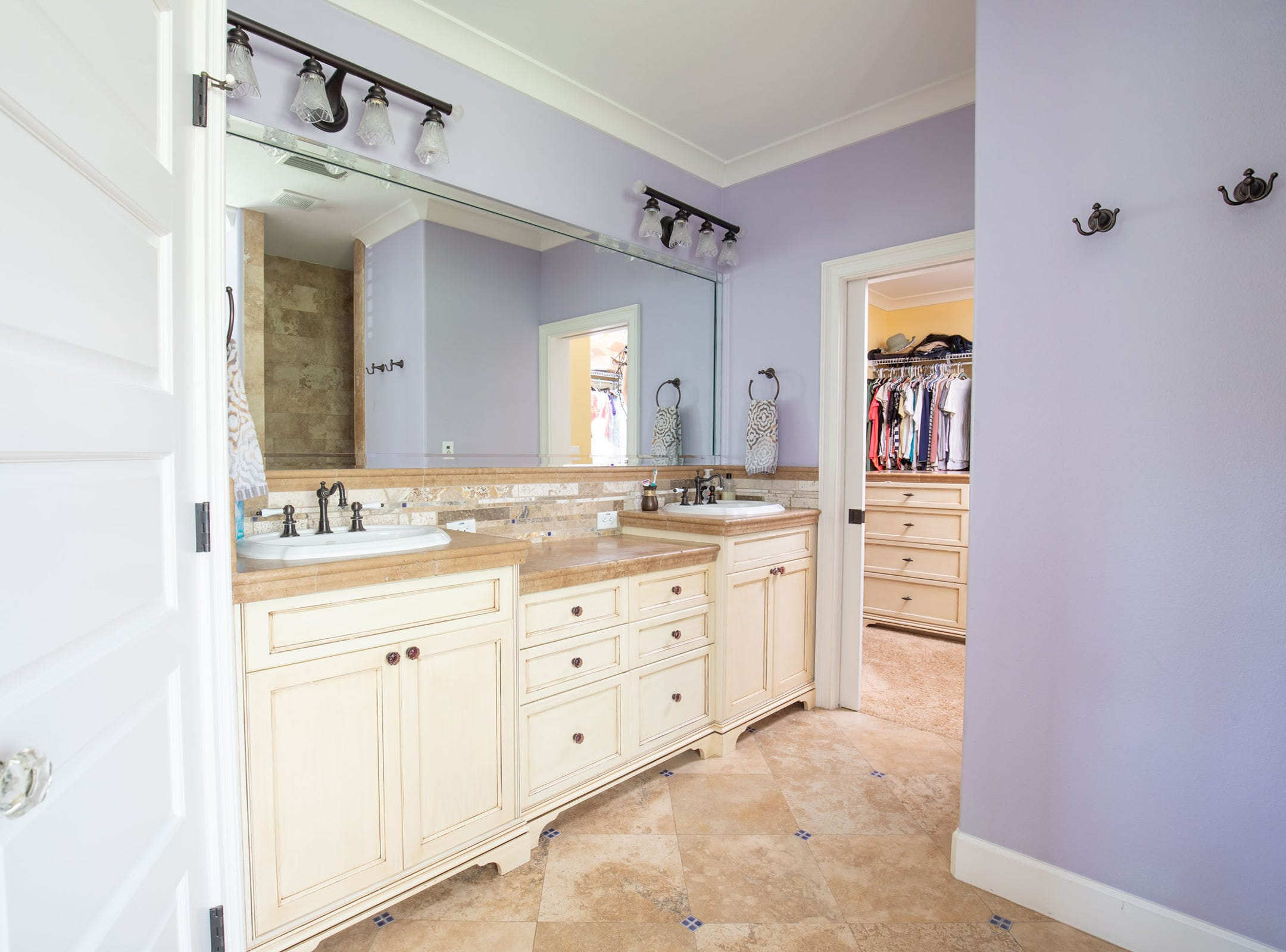 1329 Quiet Cove Court, the master baths are spacious.