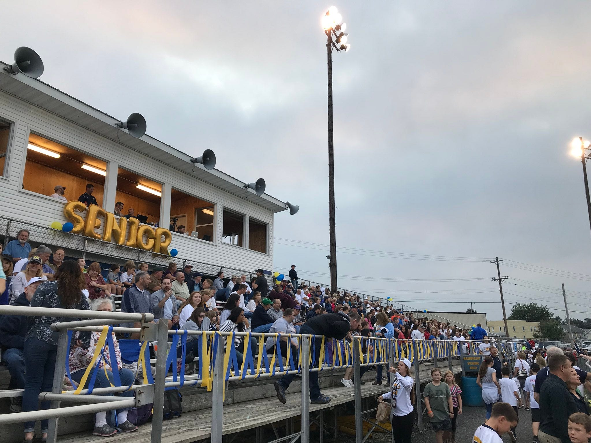 Fans turned out to watch Delone Catholic take on Littlestown on Friday, Sept. 21, 2018.