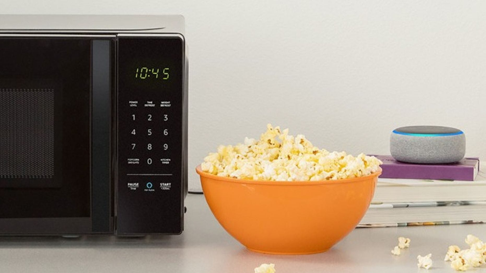 Alexa, reheat the leftovers and stop telling the coffee machine how much popcorn I eat