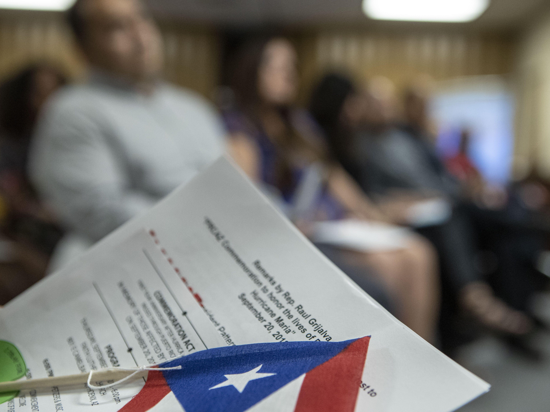 Puerto Ricans in Arizona mark the one-year anniversary of Hurricane Maria.
