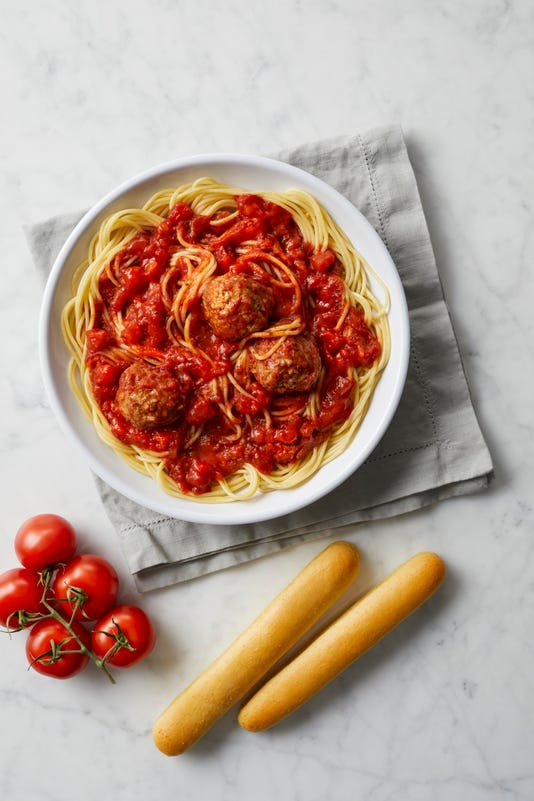 Fazolis Spaghetti And Meatballs