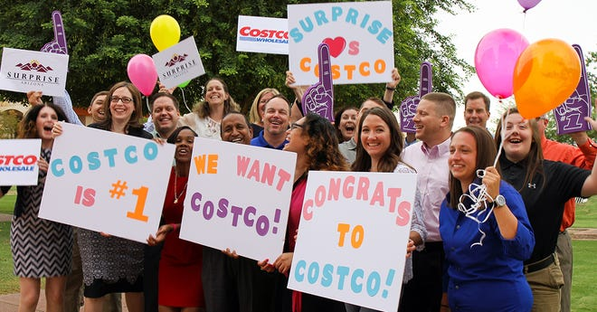 Surprise congratulates Costco for being named #1 on its most-wanted retailer list.