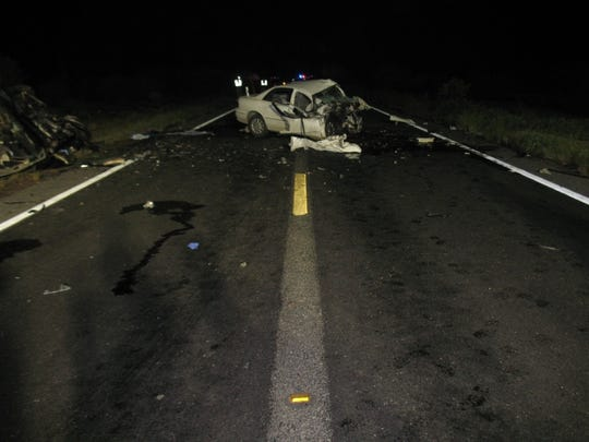 Eight people were killed after a head-on collision just south of Florence.