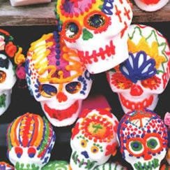 When is Day of the Dead, what does it celebrate, and what's an ofrenda?