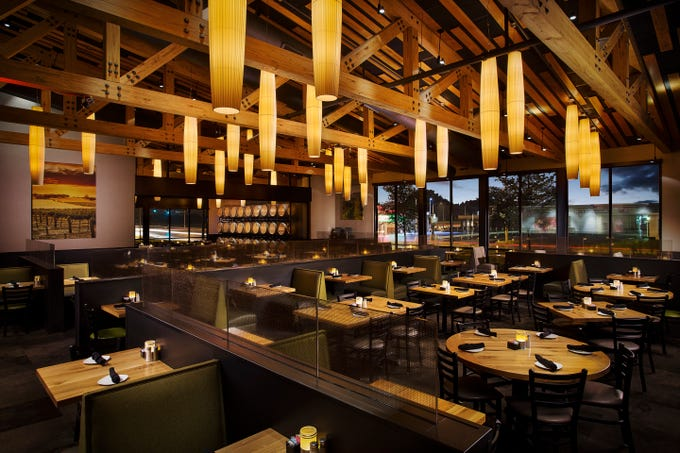 Each Cooper's Hawk location includes not only a full service restaurant, but also a wine tasting room and retail store.