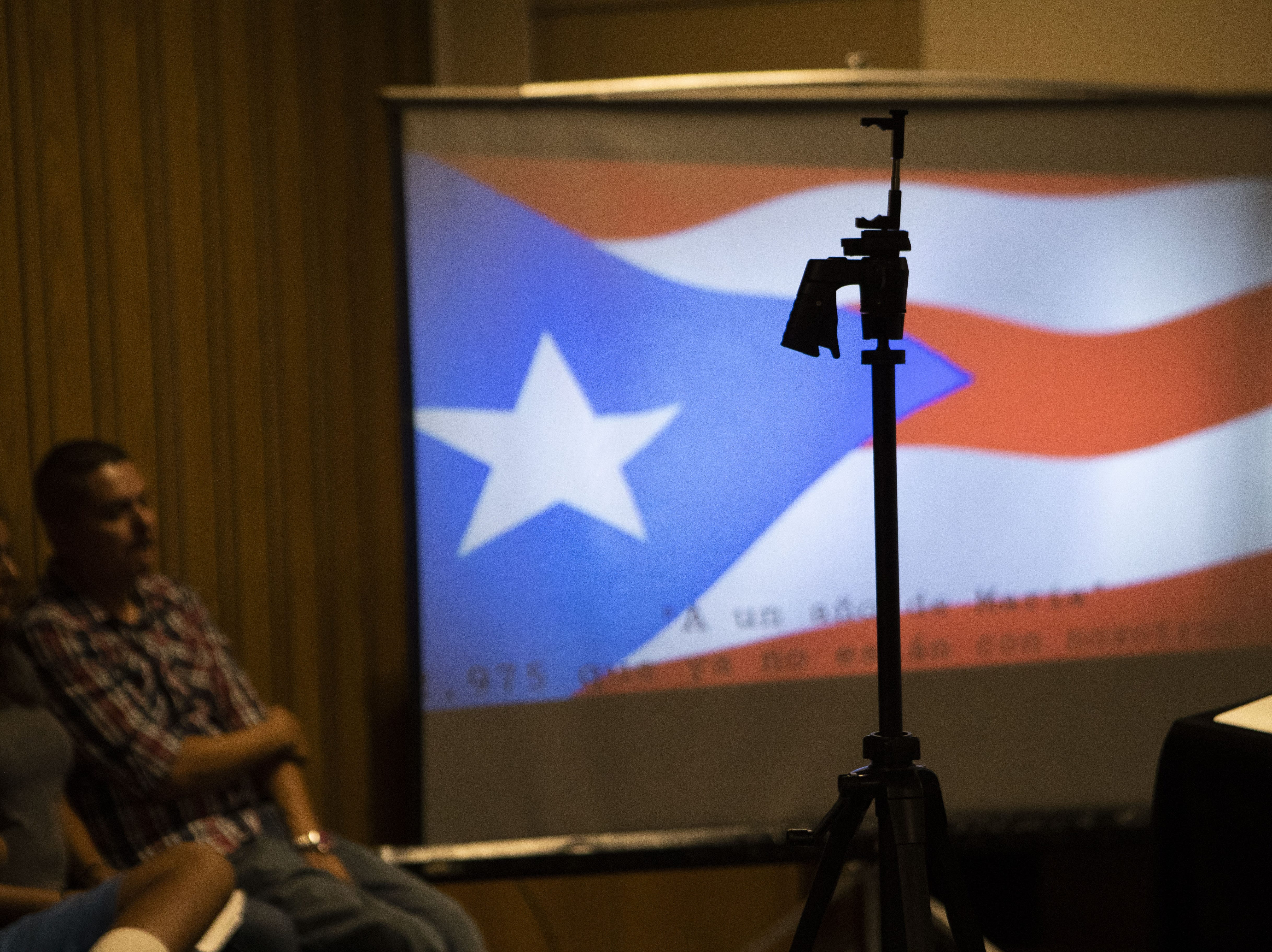 Puerto Ricans in Arizona mark the one-year anniversary of Hurricane Maria with testimonials by people who fled the island and resettled in Arizona and by having a candlelight service to remember victims and to honor survivors at Faith Evangelical Lutheran Church in Phoenix.