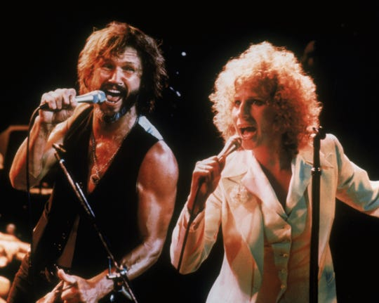 "Kris Kristofferson and Barbra Streisand star in ""A Star Is Born"""
