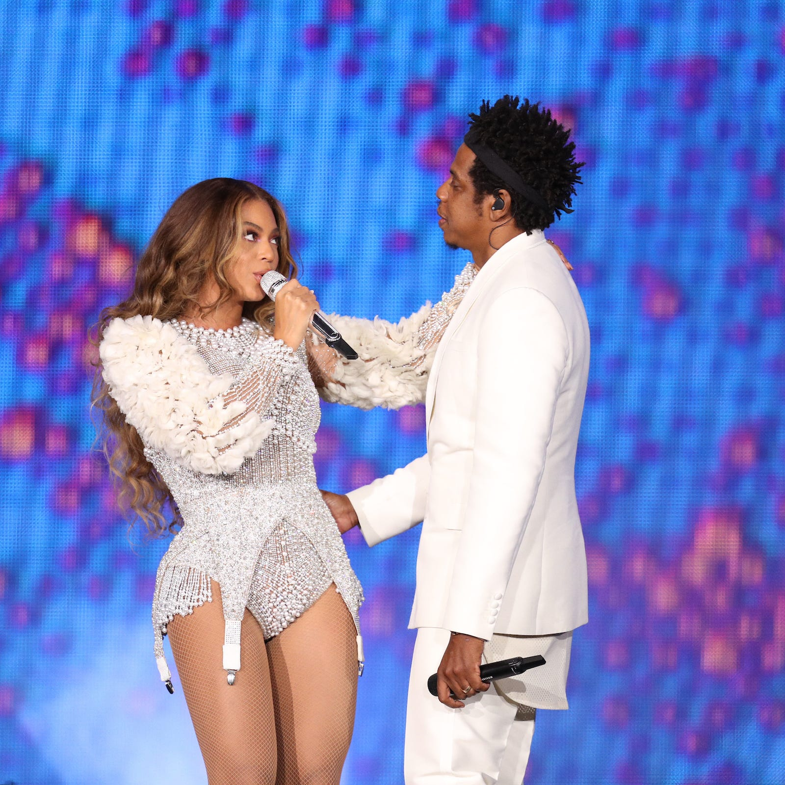 Concert review: Beyonce and Jay-Z still crazy in love during On the Run II Tour