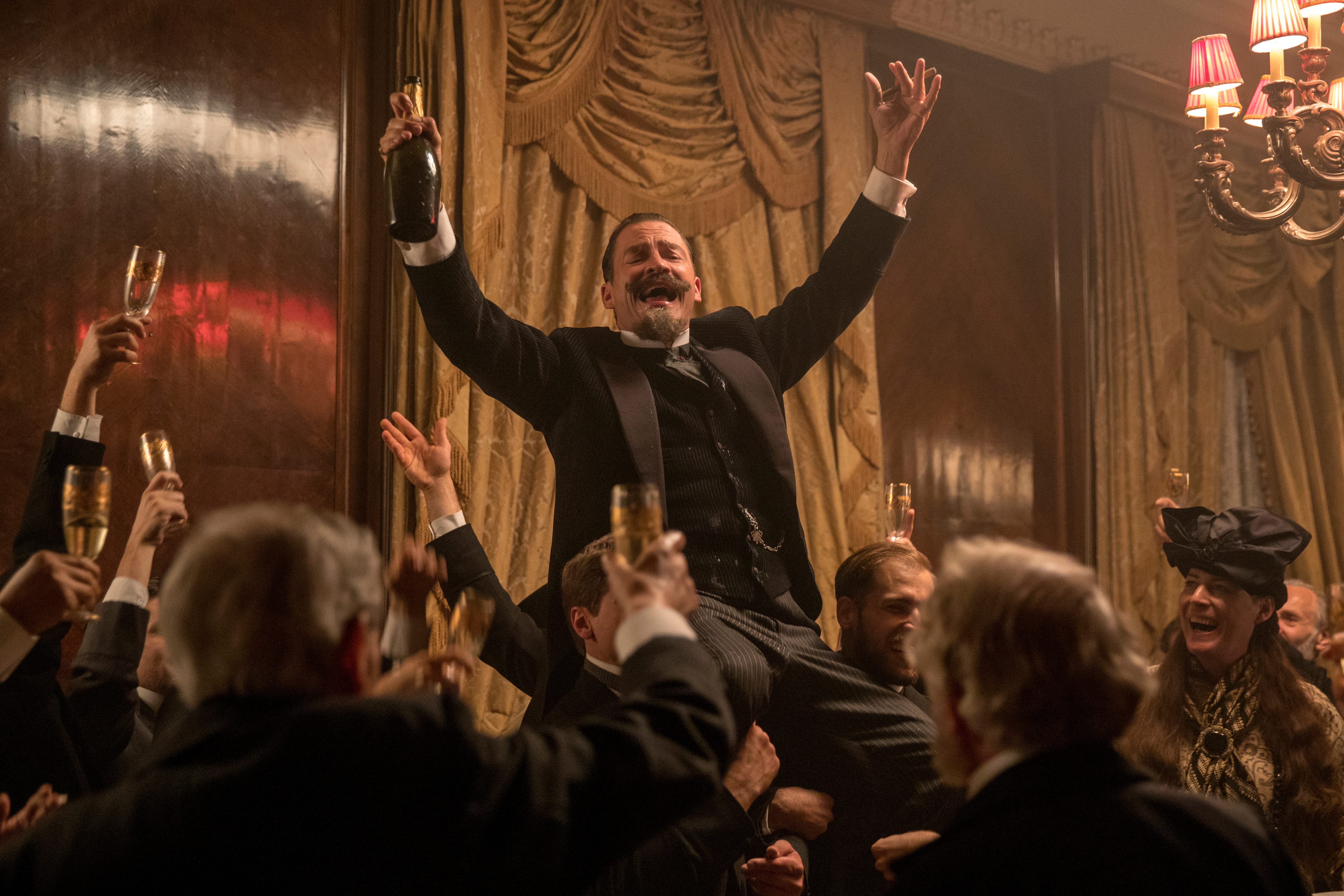 """Willy (Dominic West) loves being the center of attention in """"Colette."""""""