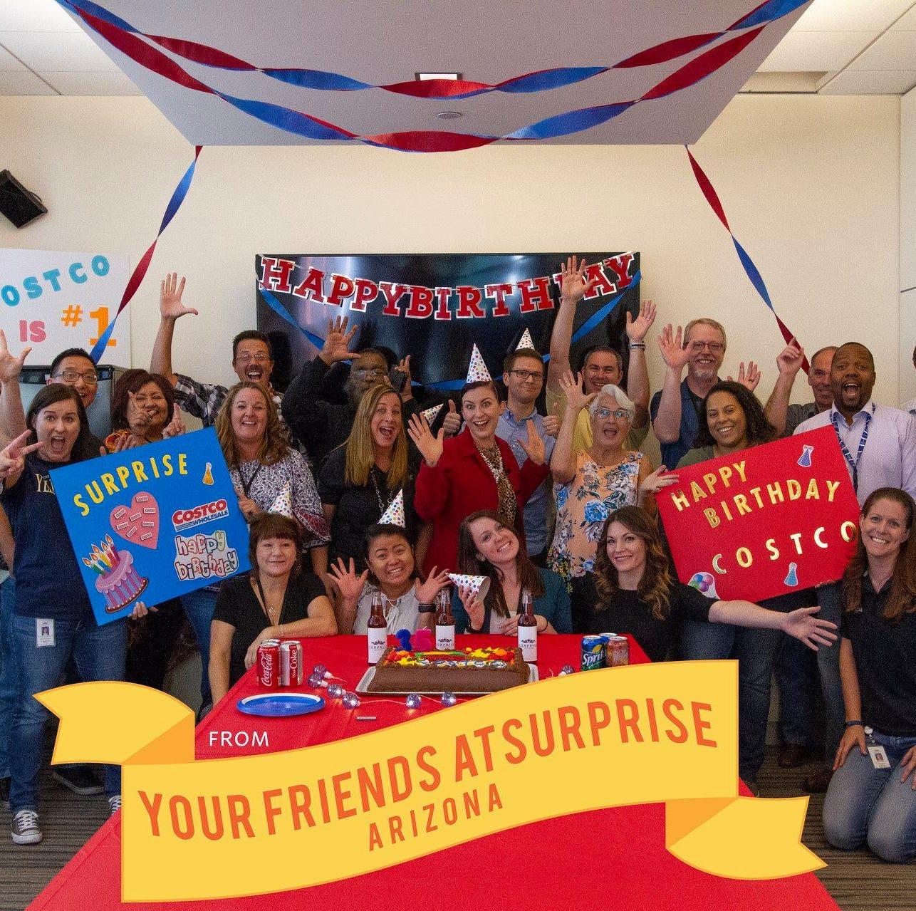An Arizona city wants a Costco so bad that it threw the company a birthday party