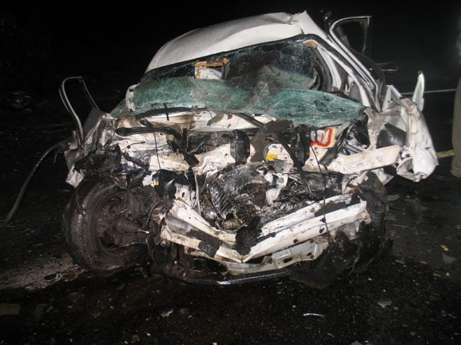 Eight people died when a Chevrolet Suburban and a Buick passenger vehicle collided head-on shortly before 10 p.m. Wednesday near milepost 122 on State Route 79 near Florence, according to the Arizona Department of Public Safety.
