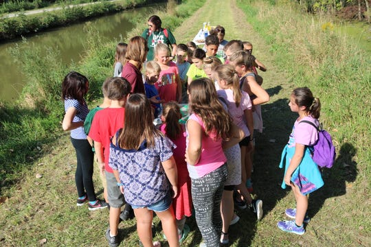 Students learned all about local conservation issues, from agriculture to animals, during the 57th annual Fifth Grade Conservation Field Day held at the Ottawa National Wildlife Refuge on Thursday and Friday.