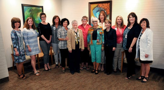 The current members of the McLaren Port  Huron Women's & Children's Community Advisory Board.