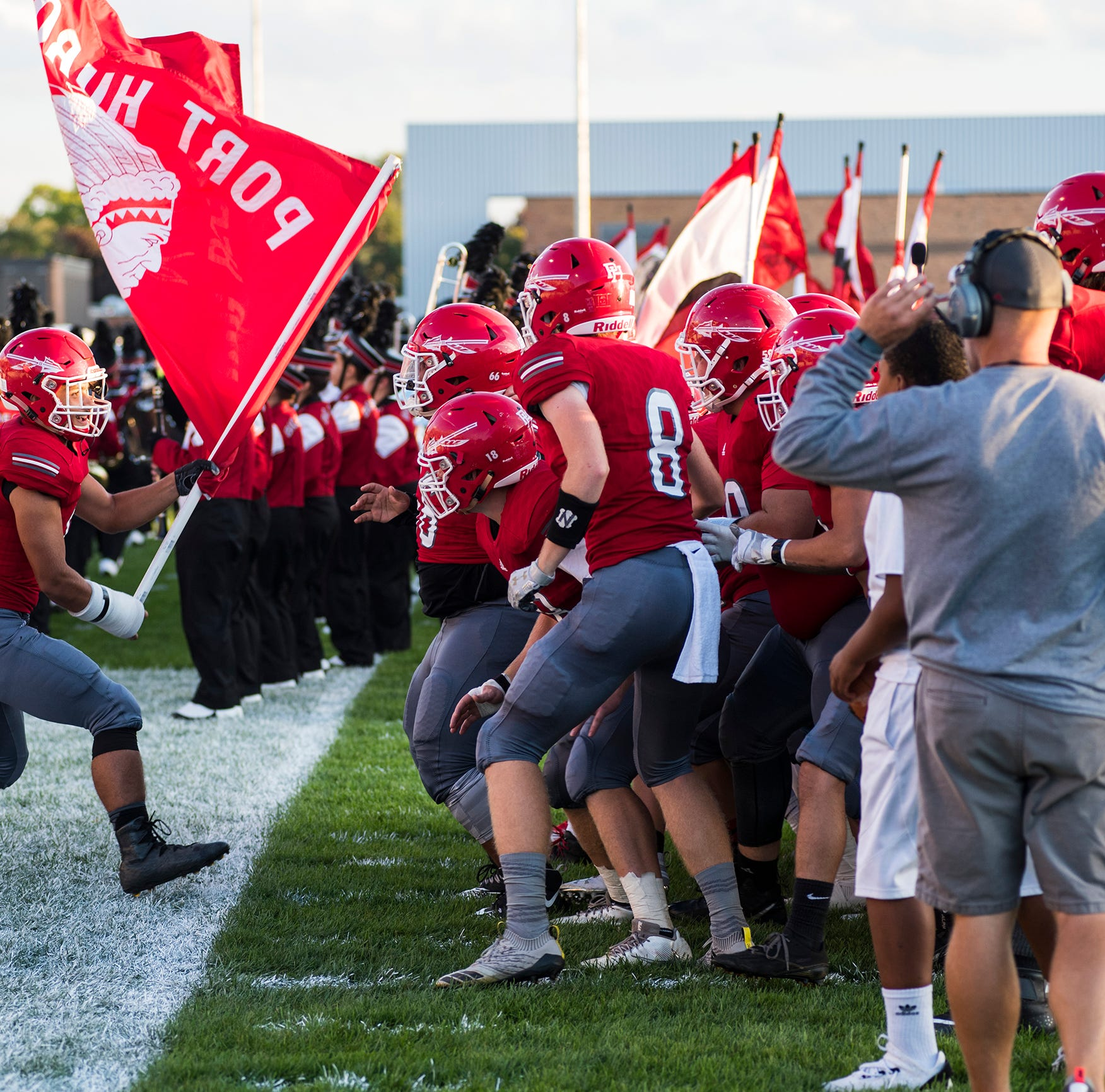 Blue Water Area high school football scores for Week 5