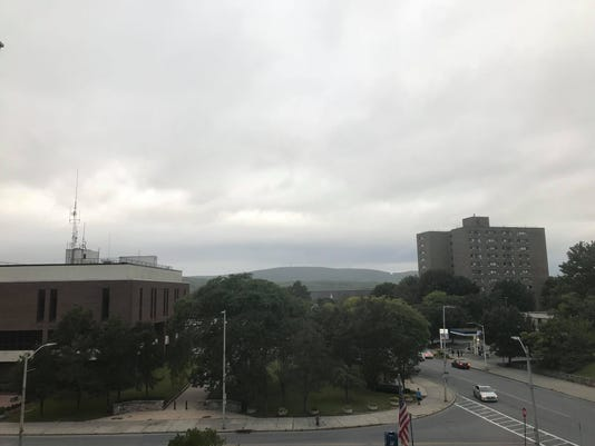 Weather outside Journal building
