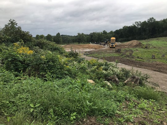 This Hyde Park site is where Bellefield at Historic Hyde Park is being constructed.