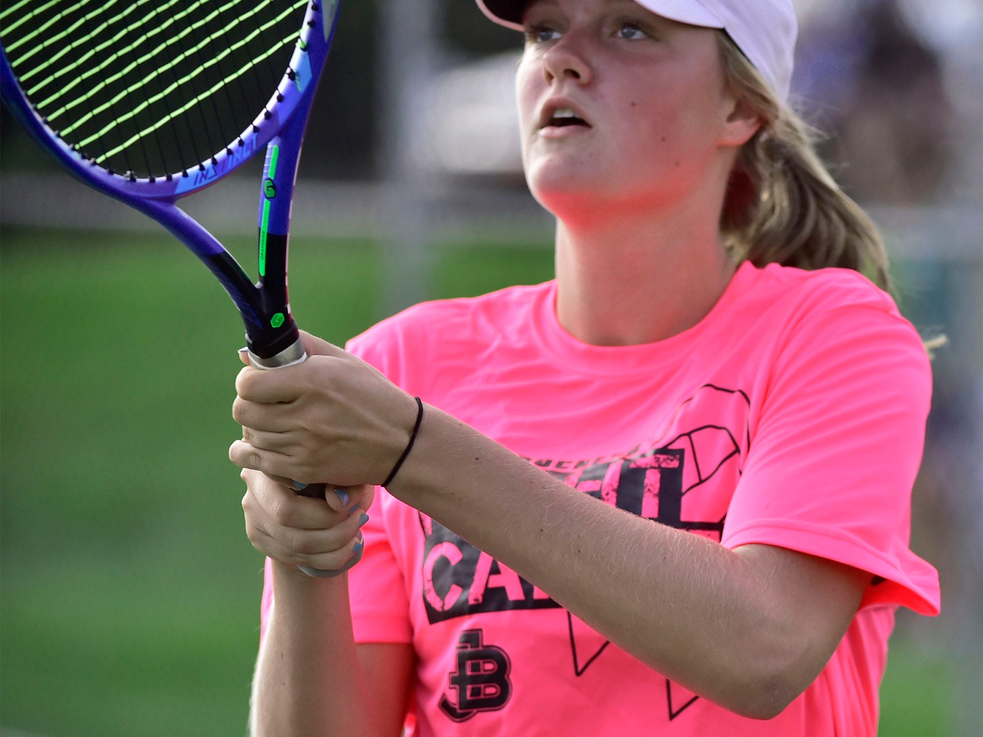 PHOTOS: James Buchanan girls tennis defeats Middletown 5-0