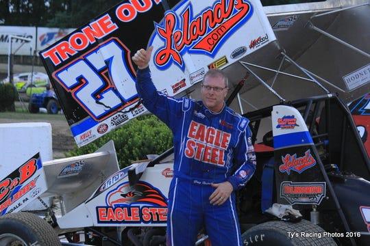 Sprint car driver Greg Hodnett
