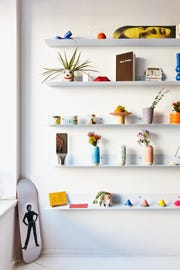 YOWIE's clean, colorful interior is an aesthetic delight for visitors.
