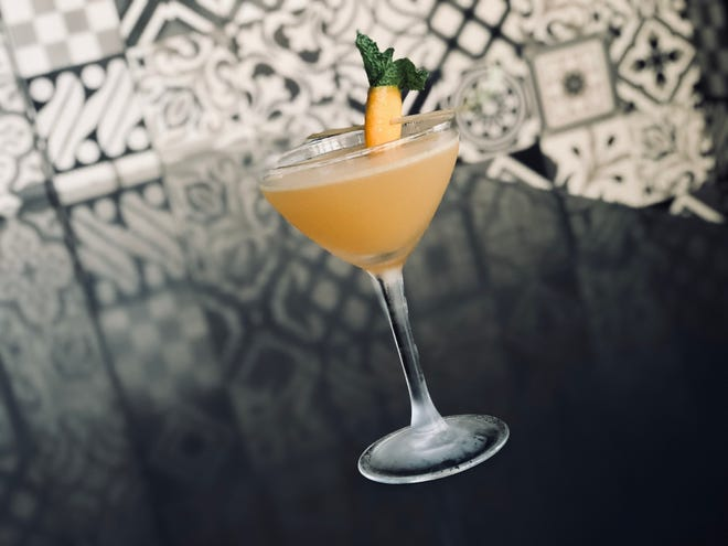 At 1864 Tavern, the Silly Wabbit cocktail combines reposado tequila with the energy boosting properties of limonene, an essential oil found in cannabis and other plants.