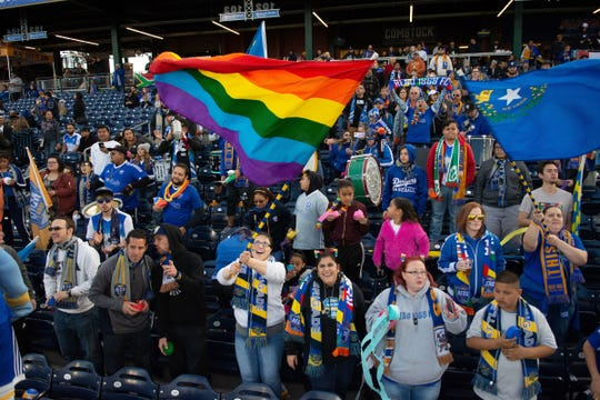 Reno 1868 FC hosts Las Vegas Lights FC on Saturday night at Greater Nevada Field in downtown Reno.
