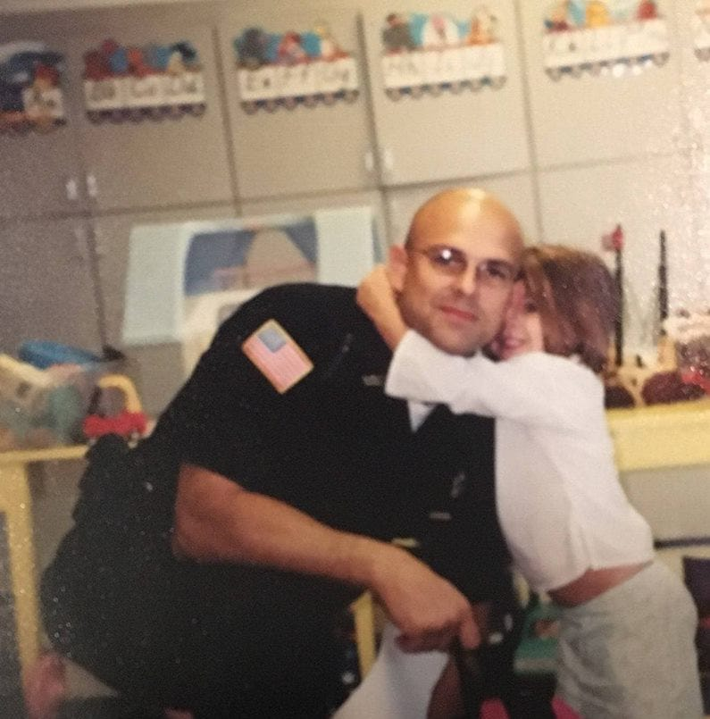 Richmond Police officer Neal VanMiddlesworth bonds with daughter Payton through soccer