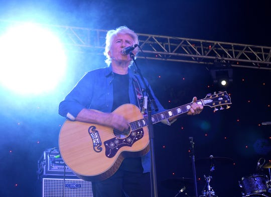 Graham Nash, of Crosby, Stills and Nash fame, plays a concert Wednesday (Oct. 3) at the Cascade Theatre