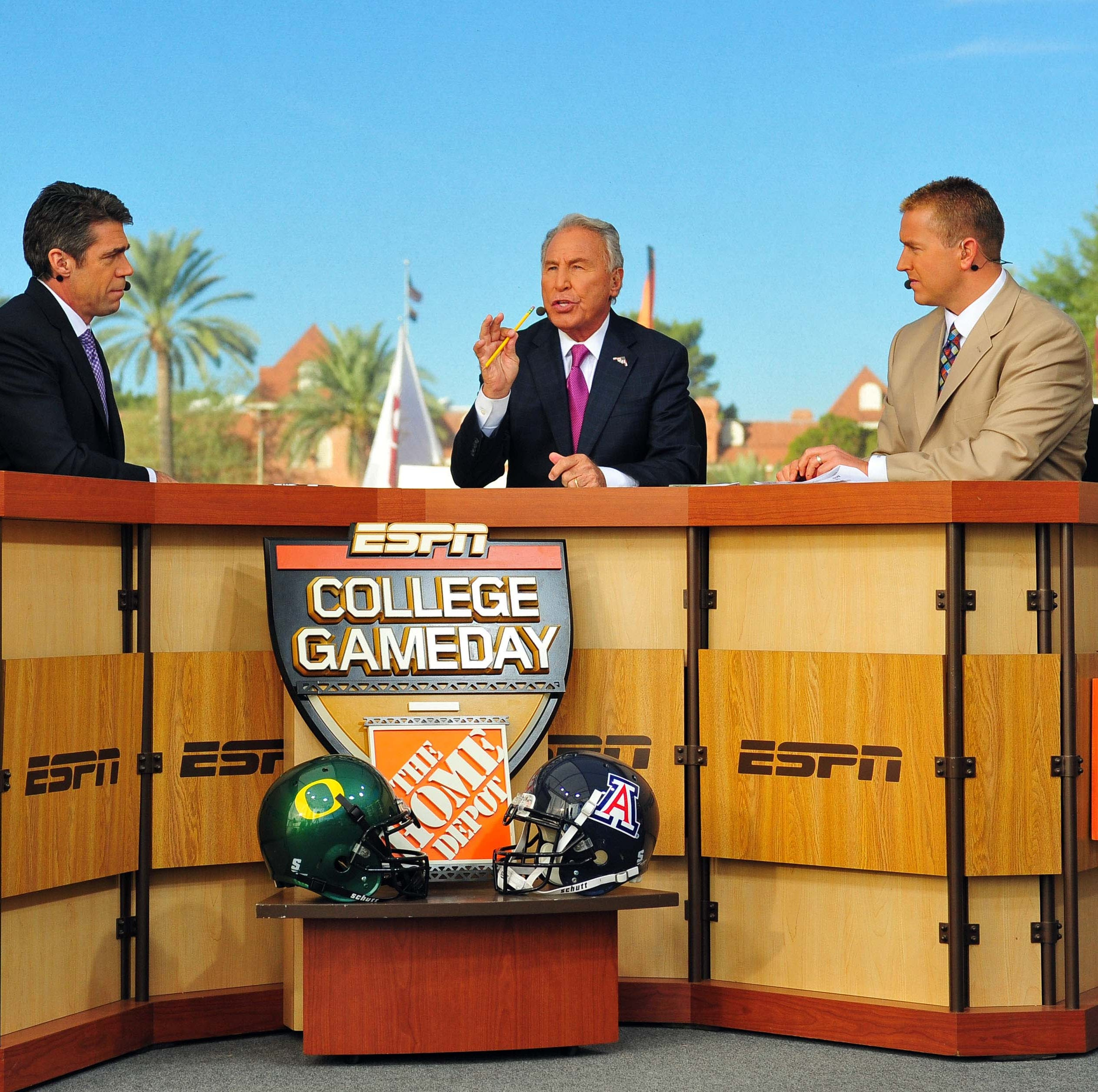 Oregon Ducks usually win if ESPN College GameDay is in town